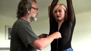 Hazel bondage and fucked schoolgirl XXX